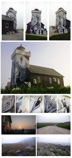 Lucy McLauchlan - Obrestad lighthouse