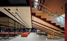 Woodside Building for Technology and Design at Monash University by Grimshaw   2020-11-02   Architectural Record Wool Insulation, Window Unit, Exterior Cladding, Passive House, Building Code, Metal Panels, Double Glazed Window, Learning Spaces, Surface Area