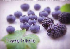 Ein toller Küchenkalender aus frischen Früchten ob exotische oder heimische Früchte, liebevoll arrangiert und dekoriert für ein genussvolles Jahr 2013
