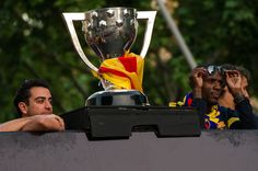 Xavi Hernàndez & Eric Abidal