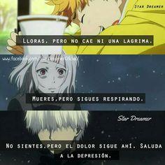 Sad Anime, Otaku Anime, Kawaii Anime, Tokyo Ghoul Cosplay, Spanish Phrases, Asuna, Kaneki, How I Feel, Self Esteem