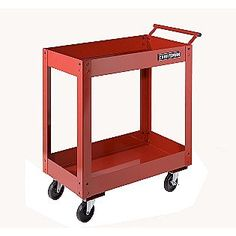 Craftsman 31'' 2-Tray Service Cart $75.99 (which one would I rather have for the studio?)