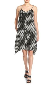 c501c5e24a0 Free shipping and returns on Madewell Print Silk Trapeze Dress at  Nordstrom.com. Perfect