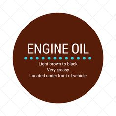 Tip # Does your car have an engine oil leak? It's important to get it fixed as soon as possible because this is often a sign of a larger problem. Ignoring oil leaks can lead to major engine damage.