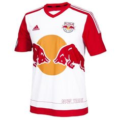 adidas Youth  New York Red Bulls Soccer Jersey (Home 2015/16)