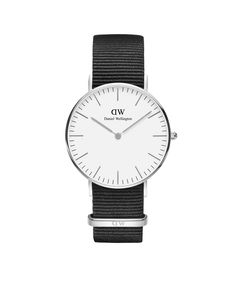 The Classic Cornwall (36mm) in Silver Daniel Wellington Watches 5846cb222ab