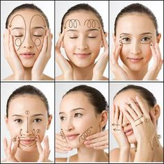 Japanese Beauty Secrets That You Must Know! #DailyBeautyTips Yoga Facial, Massage Facial, Face Yoga, Neck Massage, Spa Massage, Foot Massage, Massage Therapy, Beauty Care, Beauty Skin