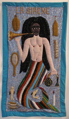 La Sirene Vodou Banner by Lherison DeBrise (Port-au-Prince, Haiti)