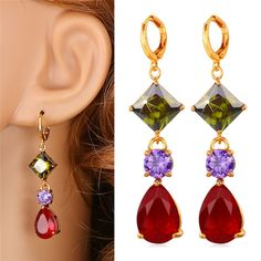Cheap earring knot, Buy Quality earring packaging directly from China earrings double Suppliers:                     Buy the matching items,please click following pictures:           Multicolor Cubic Zrico