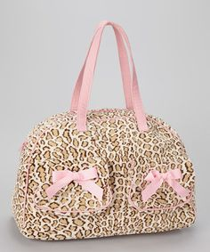 Caught Ya Lookin Pink Cheetah Print Overnight Bag