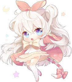 Fluffy Chibi by Moorina on deviantART
