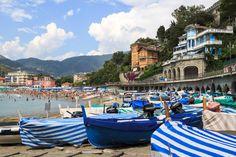 Un weekend a Levanto, in Liguria, tra mare, giri in bici, giri in barca e buon cibo.