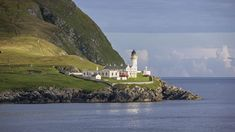 The Bressay Lighthouse in Shetland is a cylindrical masonry tower, built in and is San Francisco Bay, Travel News, Picture Show, Statue Of Liberty, Seaside, Cool Pictures, Michigan, Around The Worlds, Tower