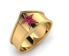 The Wonder Woman Tiara Ring