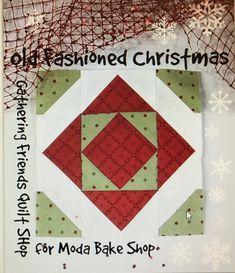 Countdown to Christmas: Old Fashioned Christmas   Moda Bake Shop   Bloglovin'