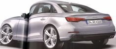 Audi A4 Rendered Once Again