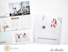 Hello 2015 | Project Life Introduction Page by Annette H at @studio_calico