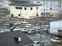 三井アウトレットモール仙台港周辺に押し寄せた津波