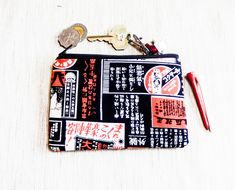 Make Up Bag, Pouch, Coin Purse, Change Pouch, Fabric Pouch, Pencil Pouch, Zipper Pouch, Pouch, Unisex Gift, Gift for Her, Gift for Him