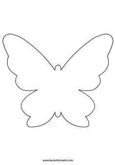 sagoma-farfalla-7 Butterfly Template, Butterfly Pattern, Butterfly Table Decorations, Alphabet Letter Templates, Butterfly Project, Felt Crafts Patterns, Animal Skeletons, Butterfly Mobile, Paper Butterflies