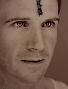 Ralph Fiennes as Mark Antony in Shakespeare's Julius Caesar, 2005.