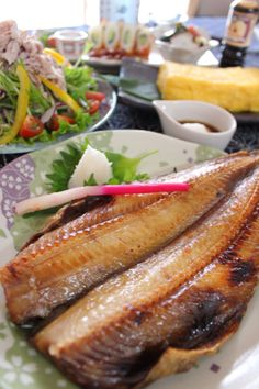 Grilled Hokke (atka mackerel) ほっけ