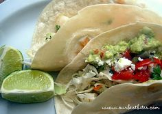 Cilantro-Lime Vinaigrette + Grilled Fish Tacos   Our Best Bites  I love Fish Tacos and I love Our Best Bites, so this will be a match made in heaven. Besides FISH in a TACO?! How cool is that ??