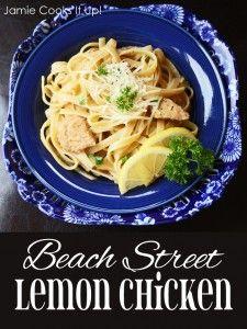 Beach Street Lemon Chicken at Jamie Cooks It Up!