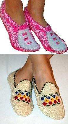 НОСОЧКИ-ТАПОЧКИ СПИЦАМИ. Spool Knitting, Knitting Socks, Knitted Slippers, Slipper Socks, Knit Shoes, Sock Shoes, Boot Cuffs, Knit Patterns, Leg Warmers