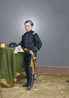 Thomas Tad Lincoln Civil War | Colorized Photos ...