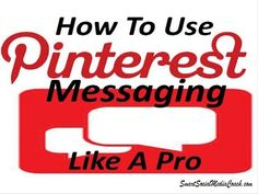 Say hello to messages on Pinterest - YouTube