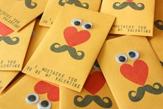 Clever Valentine's (great for boys to give)