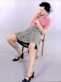 Milla Jovovich by Juergen Teller for Anna Molinari 1996