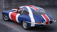 1961 Jaguar E-Type by jerry001 on DeviantArt