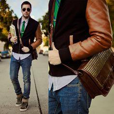 Reinaldo L featuring Diesel Hi Top Sneakers, Los Angeles www.diesel.com/male #SuccessfullyStyled