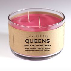 Talk. To. The hand. Seriously? I mean, seriously? I bought you this Candle for…