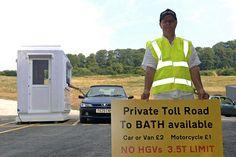 Бизнесмен из Британии построил собственную платную дорогу