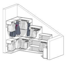 Progetto cabina armadio dietro il letto a spazi separati armadi pinterest - Progetto casa fossato di vico ...