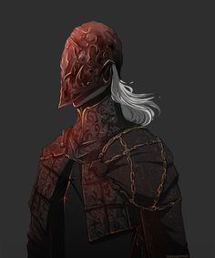 Bloodborne, The Cainhurst Royal Guard Character Aesthetic, Character Concept, Character Art, Fantasy Armor, Dark Fantasy, Arte Dark Souls, Bloodborne Art, Old Blood, Samurai