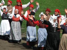 Danish Dancers in their traditional costumes - Image by Björn Láczay - flickr