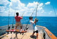 Go deep sea fishing=done
