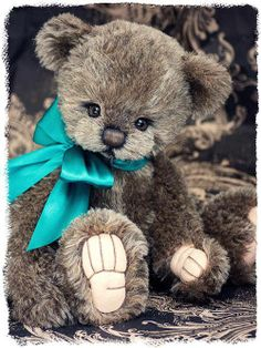 BY Three O'Clock Bears ~ I had a khola bear given to me when I was 2 with real fur.