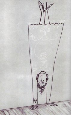 Repin and comment!    #:D handstand Saul Steinberg #Illustration #Saul_Steinberg  http://richmondvabarbecue.com  #happiness #happy