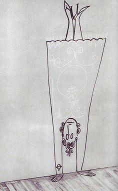 Handstand - Saul Steinberg