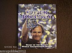 2001 Comcast Sports Net Ravens Super Bowl Season Hard Cover Book $24 free priority shipping!!