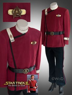 Wrath Of Dhan – Spock's Class A Maroon Uniform