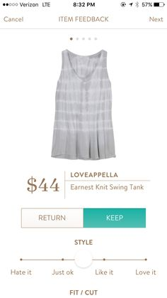 I am over the top in love with this tank. I feel like you could wear it with so much!