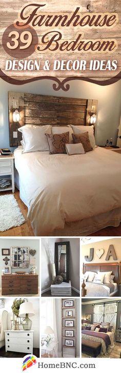 Farmhouse Bedroom Decor Ideas… http://www.4mytop.win/2017/08/01/farmhouse-bedroom-decor-ideas/