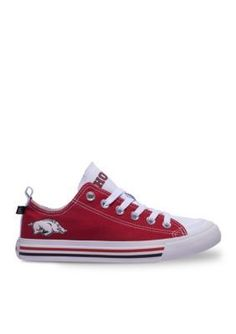 SKICKS  Red Arkansas Unisex Low Top Sneaker