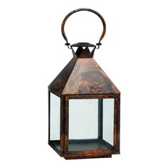 The Riado Mogador Burnish Copper Lantern Lantern offers a minimalism style. These traditional style lanterns are found all over the luxury homes and hotels and are great to light the entrance, the yard, or simply cluster around the pool, at sunset.
